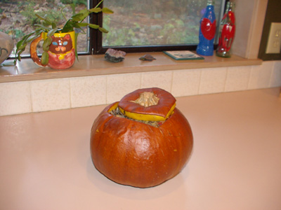 Thanksgiving Weight Loss – Stuffed Pumpkin ~ Hypnosis Health Info