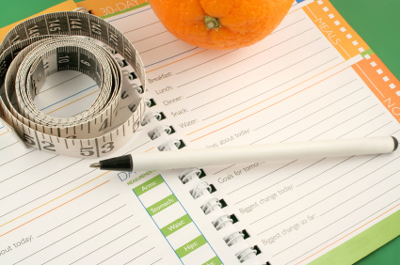 Food Diaries and Exercise Increase Weight Loss