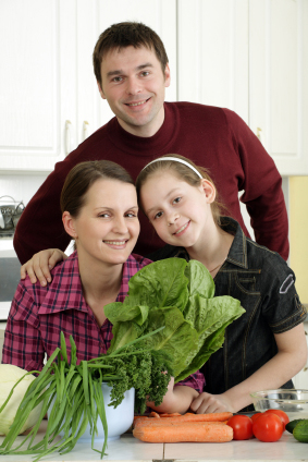 Childhood Obesity: Make Weight Loss A Family Affair ~ Create A Healthy-Weight Environment