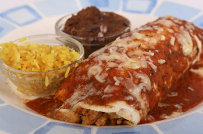 Even If It's All Organic, A 1200 Calorie Burrito Is Still Fattening!