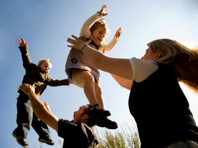 Childhood Obesity: Make Weight Loss A Family Affair ~ Stress The Importance Of Healthy Lifestyle Choices, Rather Than A Number On The Scale