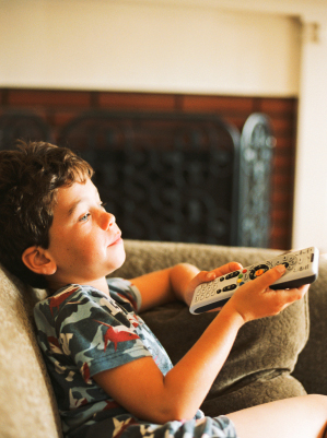 Get Hypnosis Help ~ Too Much TV Time Bad For Kids' Blood Pressure