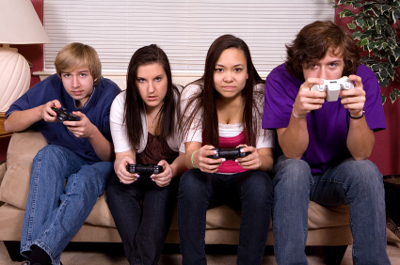 Marketing On The Internet, Cell Phones and Video Games Increase Childhood Obesity