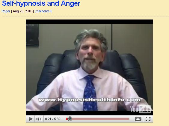 Self-hypnosis and Anger