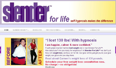 Slender For Life™ Weight Loss Hypnosis