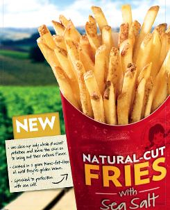 Wendy's Tries To Make French Fires Wholesome With Sea Salt