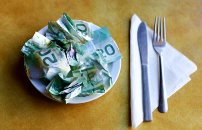 Eating Healthy Costs More ~ Or Does It?