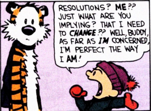 New Years Resolutions 2012