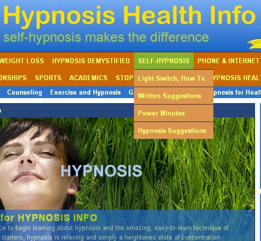 Written Suggestions for Self Hypnosis