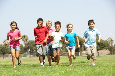 Friends Influence How Active Kids Are