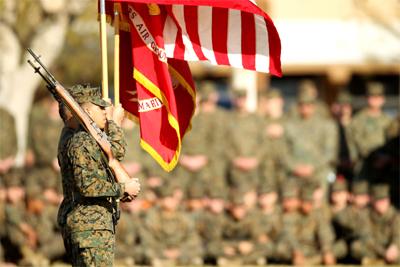 U.S. Marines study mindfulness