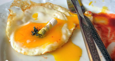 Eggs, cigarettes and atherosclerosis