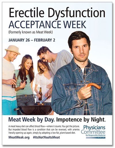 Erectile Dysfunction Acceptance Week ~ Meat week