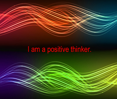 Heal thyself: Think positive