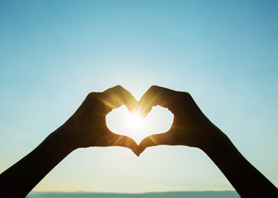Open up your heart and let the sunshine in – FREE hypnosis MP3 download
