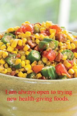 Mrs. Holmes' Corn, Okra and Tomatoes
