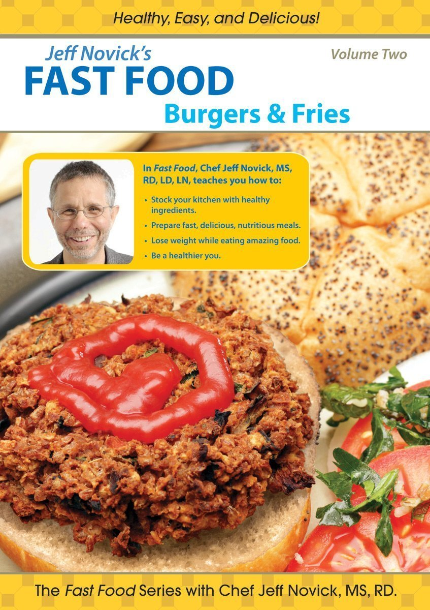 Bean Burgers ~ Jeff Novick