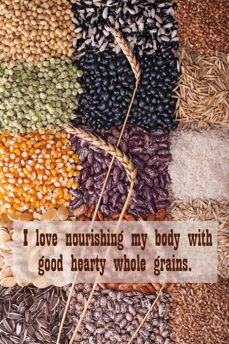 Whole grains should be part of your diet