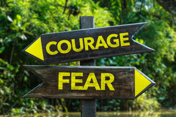 Live in great courage! ~ Hypnosis Health Info