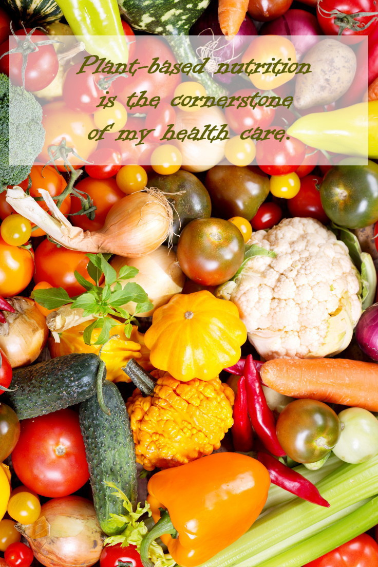 Nutrition is a cornerstone of your health care