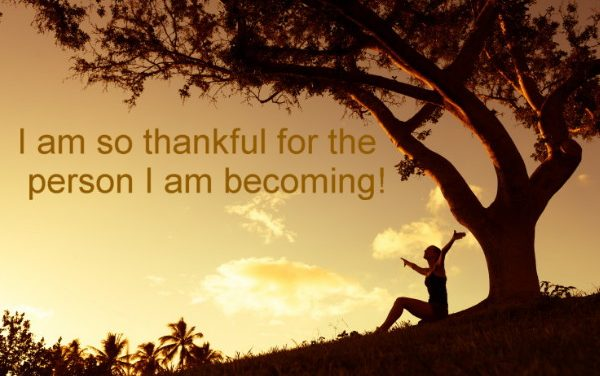 Becoming the Greatest Expression of You ~ Gratitude