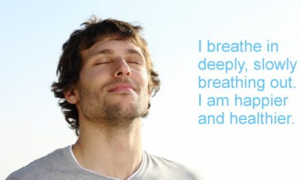 Breathe to let go of stress and anxiety