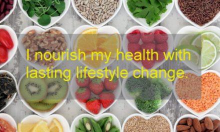 Hypnosis to nourish health ~ Lifestyle change