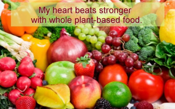 Reverse heart disease with food and hypnosis