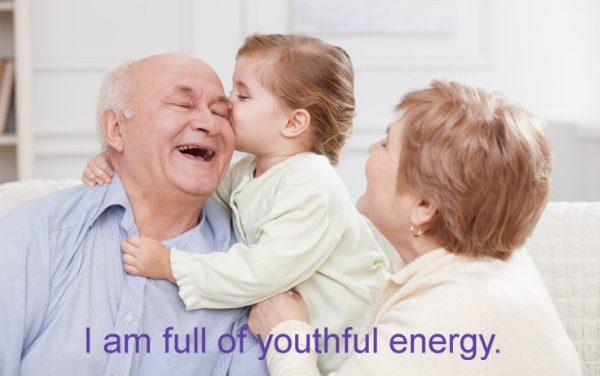 Hypnosis to feel young again