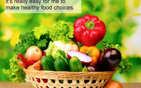 Weight loss hypnosis to make healthy food choices