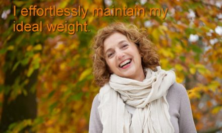 Why is self-hypnosis important for maintaining weight loss?
