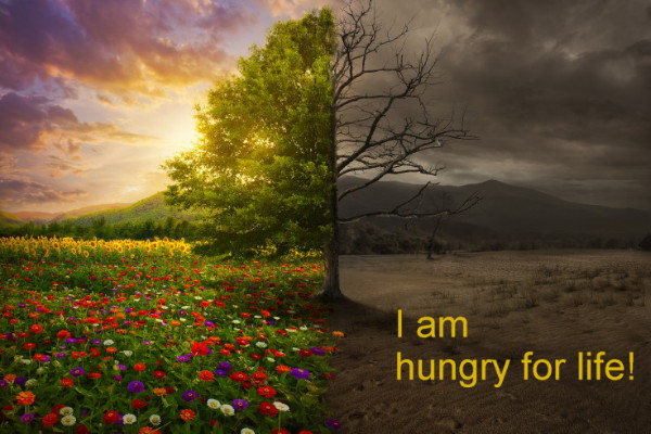 Hungry for life