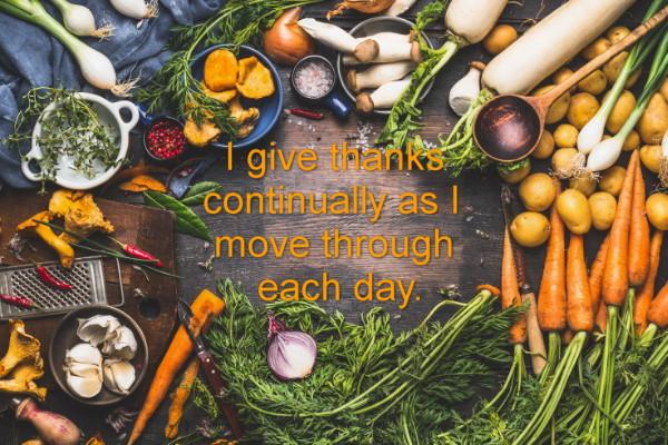 Thanksgiving weight loss