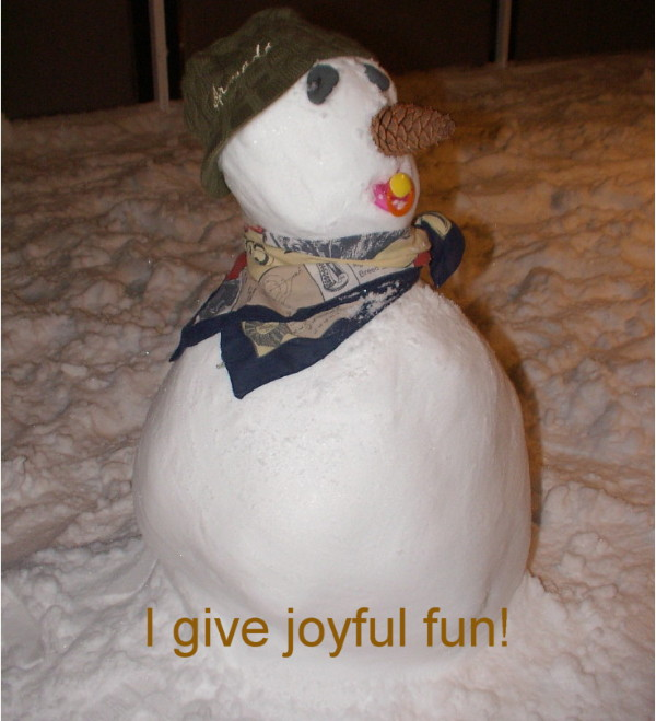Give joyful fun