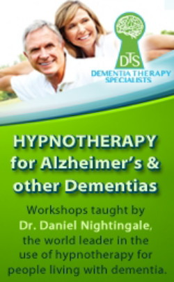 Hypnotherapy for Alzheimer's and other Dementias & End of Life