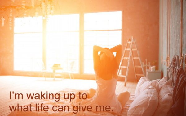 Weight loss hypnosis: Wake up to what life can give you