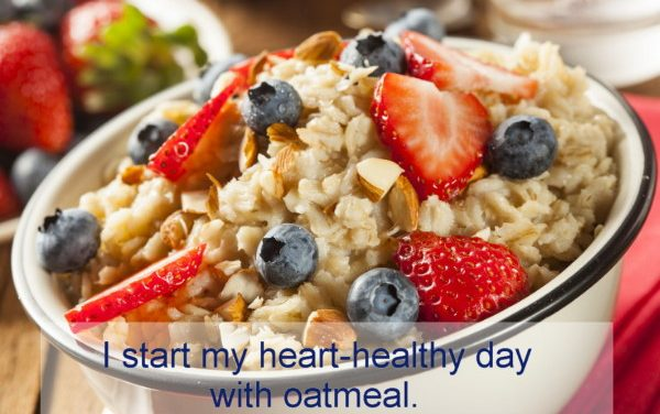 Reverse heart disease with oatmeal