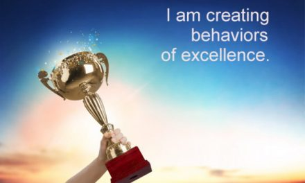 Behaviors of excellence ~ Becoming the Greatest Expression of You