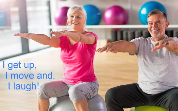 Laughter-based exercise for your health