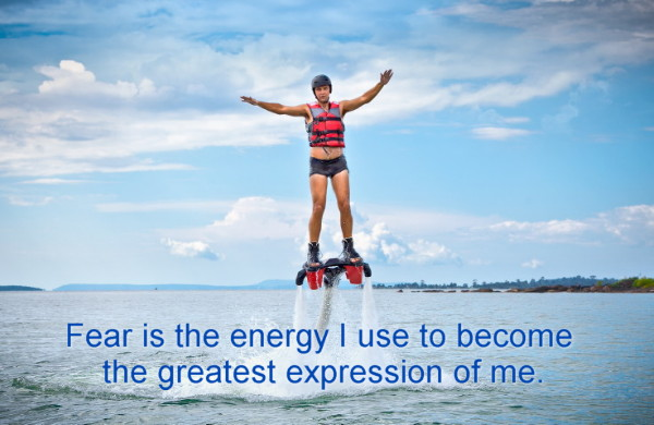 Fear is the energy
