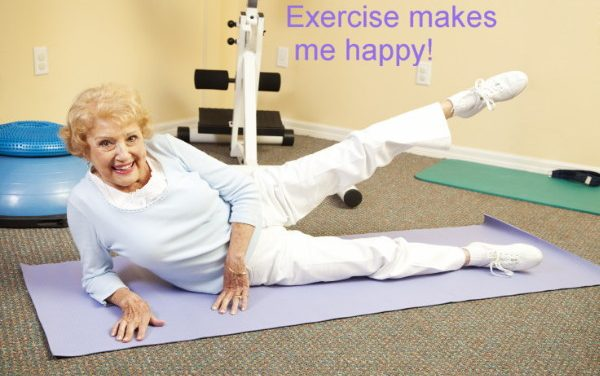 Exercise makes you happy