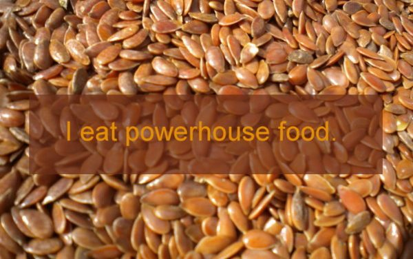 Cancer-fighting benefits of flaxseed