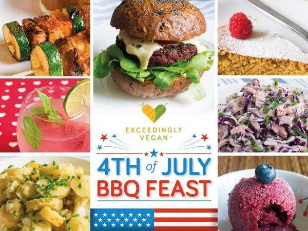 Vegan 4th of July BBQ feast