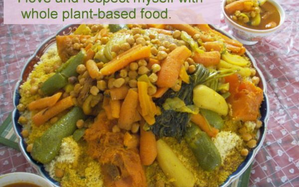 Plant-based lifestyle for weight loss