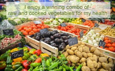 Raw or cooked vegetables? ~ Weight loss hypnosis