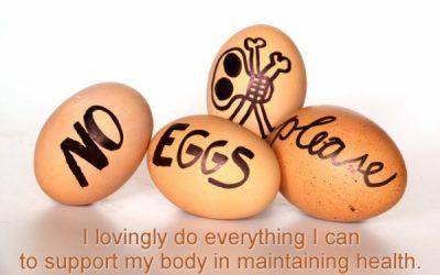 Lurking beneath the egg shell