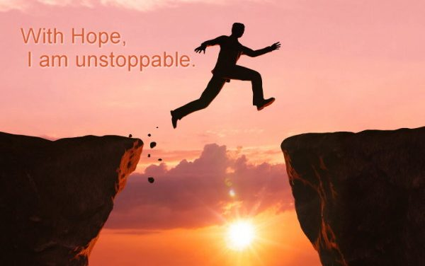 Hope: Adjunct to action ~ Becoming the Greatest Expression of You