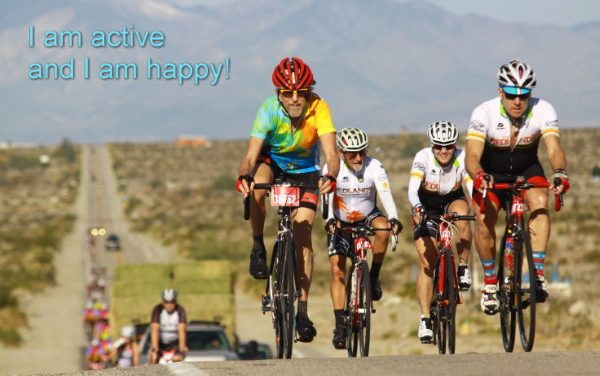 Cycling is the happiest form of transport