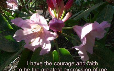 Courage and Faith