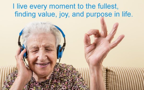 Finding value, joy & purpose in the later years of life